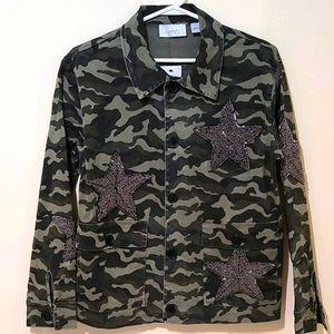 Kersh Khaki Camo Jacket